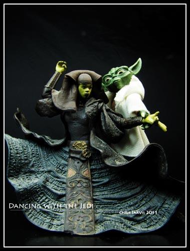Yoda and Luminara Unduli