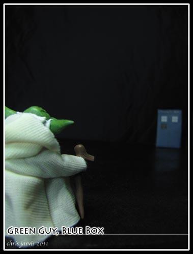 Yoda and the Tardis