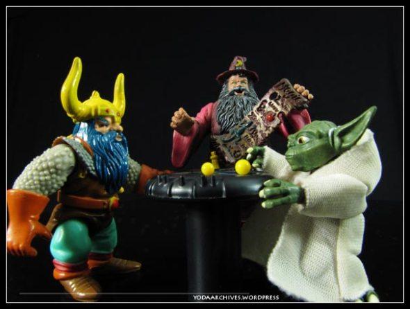 Yoda and Elkhorn the dwarf