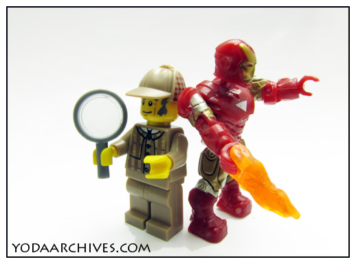 sherloch holmes and iron man