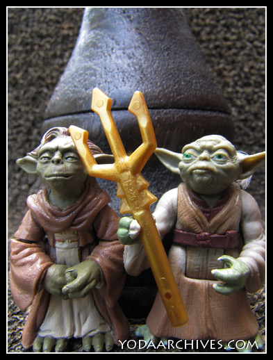Coruscant  Gothic starrin Yoda and Yaddle