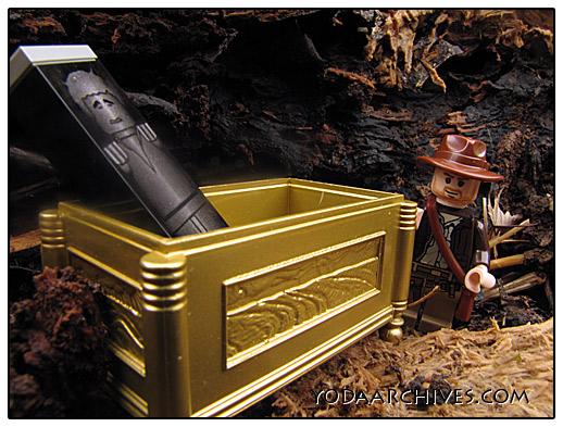 Indiana Jones locates Han solo