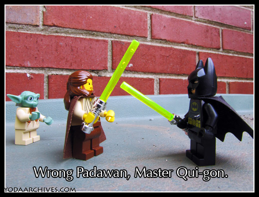 qui-gon trains batman