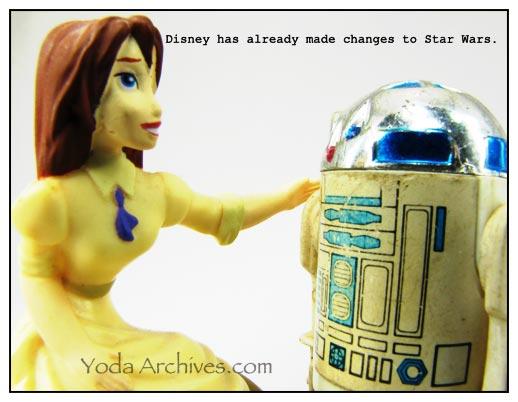 response to Disney buying star wars