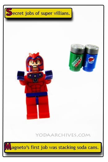 LEGO Magneto comic