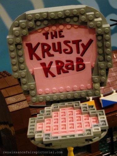 krusty crab lego