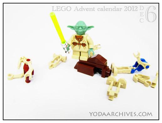 lego yoda battles droids