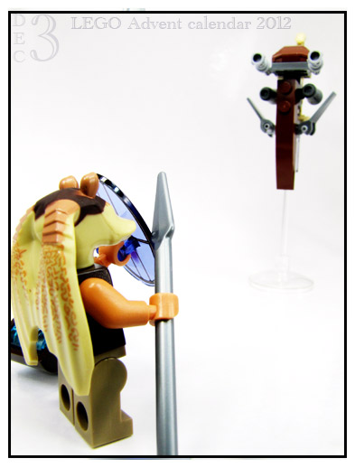lego gungan and battle droid advent calendar