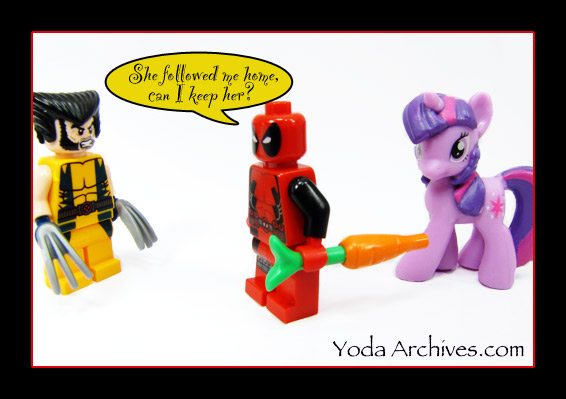 deadpool my little pony