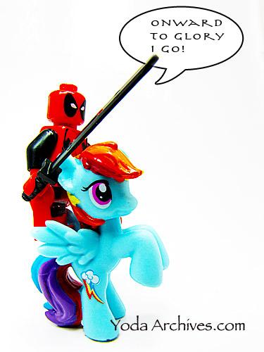 deadpool loves ponies