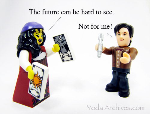 dr who  minifig