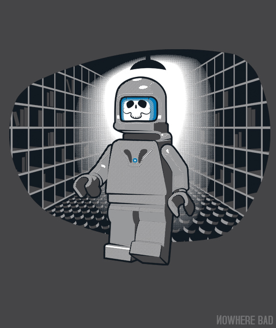 DR who LEGO shirt