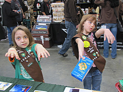 Zombie girls scouts