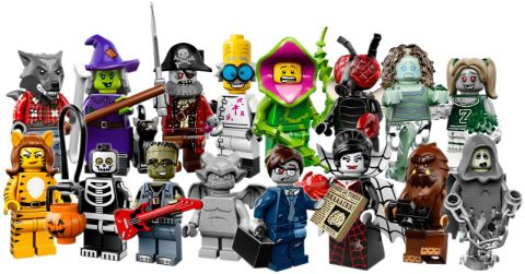series 14 lego minifigers