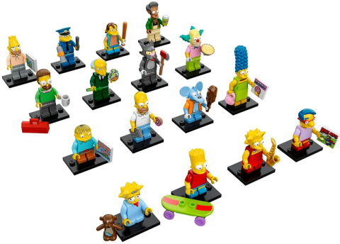 LEGO-Minifigures-The-Simpsons