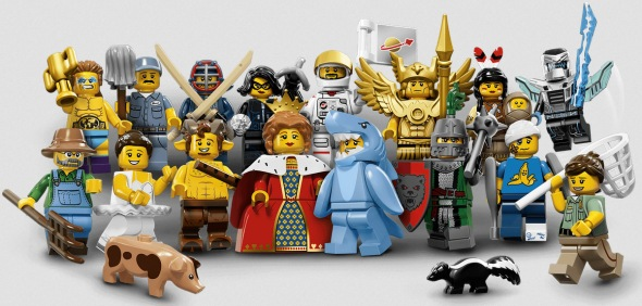 lego minifigs series 15 group shot