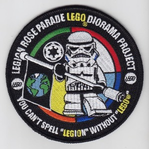 LEGO Trooper Patch