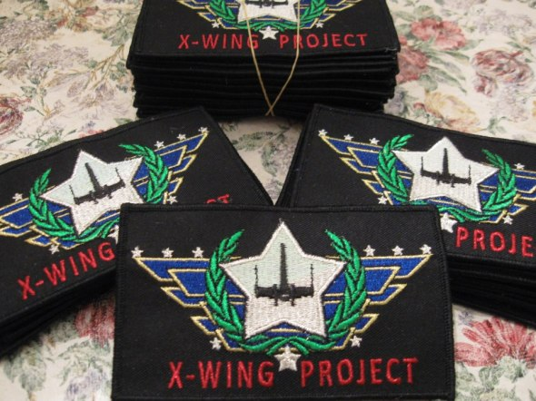 X-wing project Patches