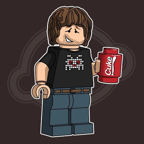IT Crowd LEGO