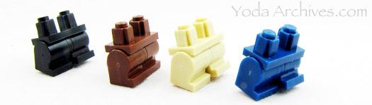 mini LEGO Legs