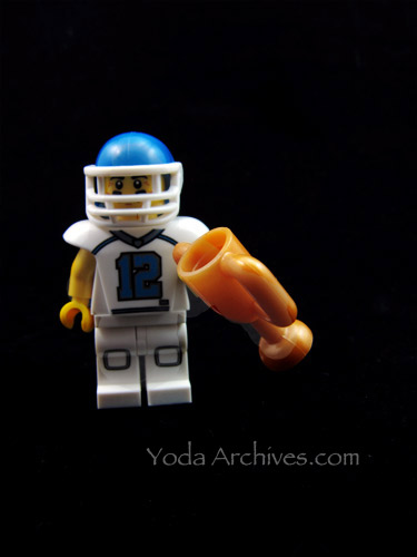 series 8 lego minifig football player