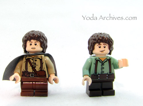 lego frodo comparisson