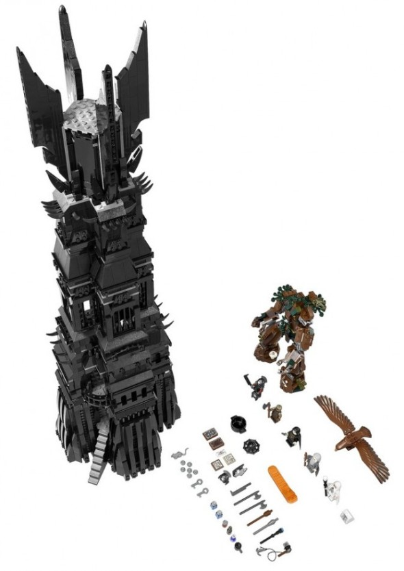 LEGO Orthanc Tower