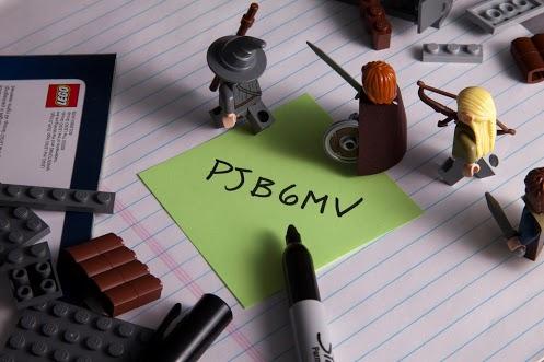 LEGO LOTR Codes