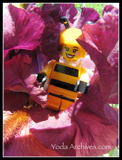 LEGO Bumblebee woman
