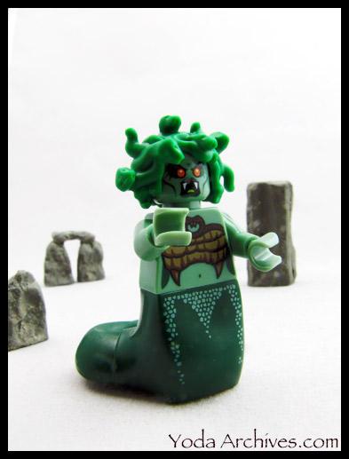 LEGO minifig Medusa series 10