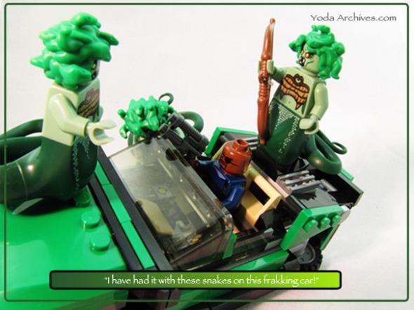 LEGO Medusa and Nick fury