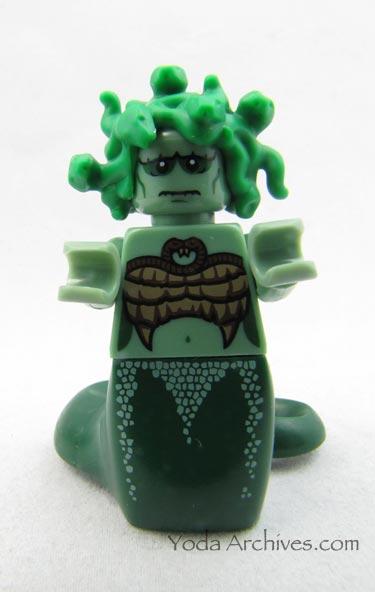 lego medusa minifig
