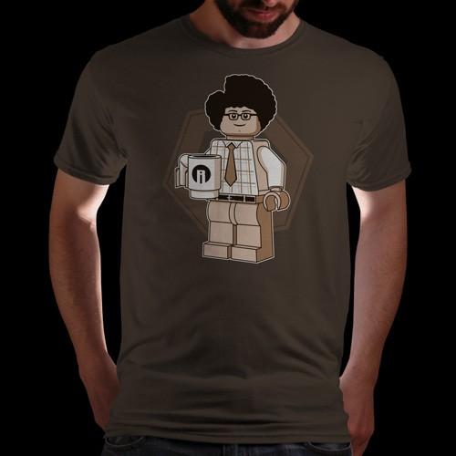 Maurice Moss  lego minifig shirt