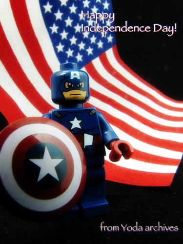lego captain america, 4th of July