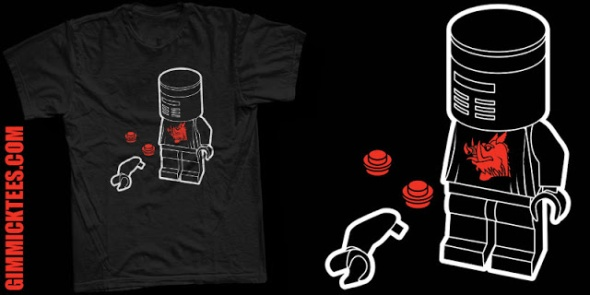 flesh wound lego shirt