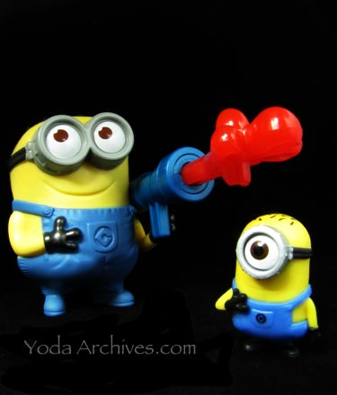 Minion happy meal toys