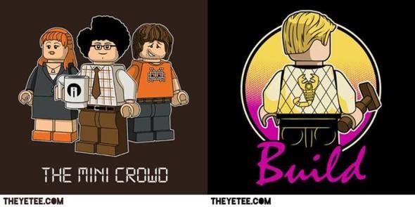 it crowd lego shirt build shirt