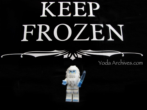 lego yeti series 11 minifig keep frozen