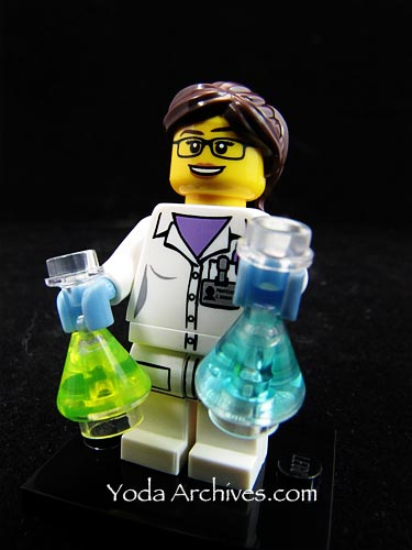 series 11 minifigs female scienest