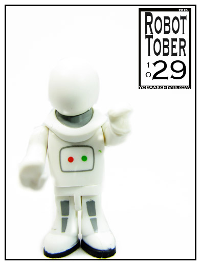 doctor who character building handbot figure