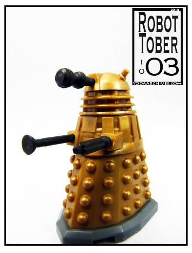 Doctor Who character building dalek