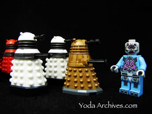 Daleks meet the Kraang
