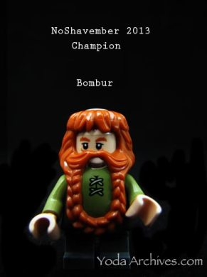 lego hobbit dwarfs in no shavember