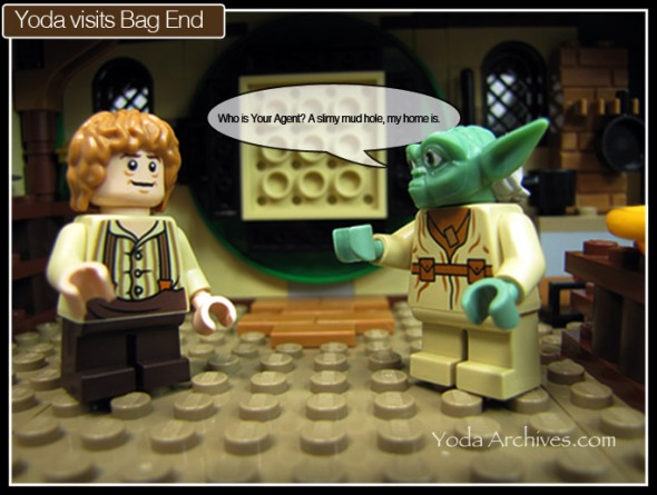 lego yoda and bilbo baggins at bad end, 79003 An Unexpected Gathering