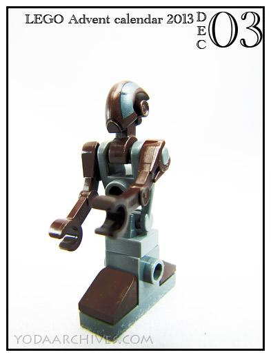 FA-4 batlle droid lego advent calendar