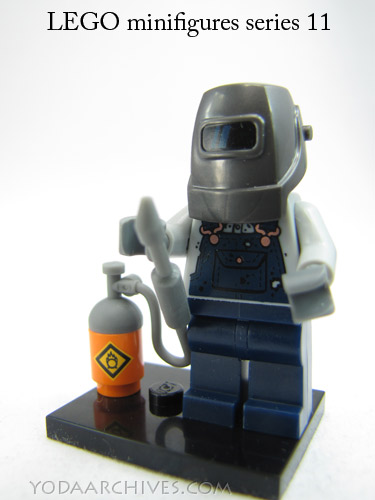 Welder guy from lego minifigures series 11