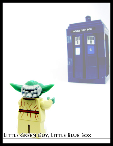 Yoda and the tardis