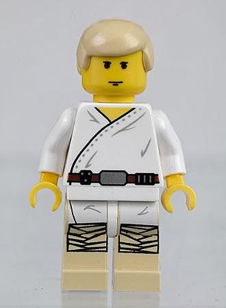 classic Luke skywalkewr minifig