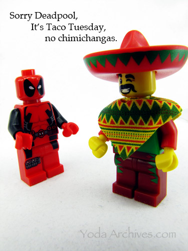 Deadpool is disappointed there are no chimicangas.