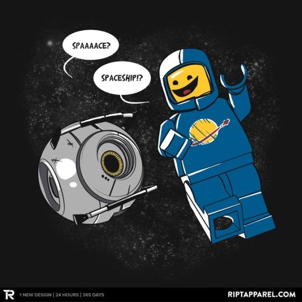 spaceship shirt